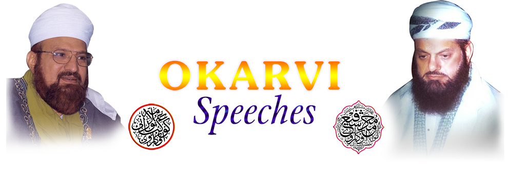 Okarvi-Speeches