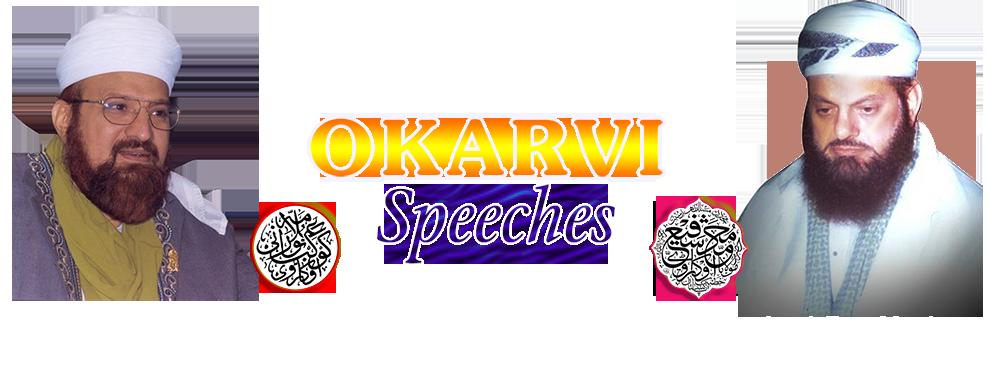 Okarvi-Speeches