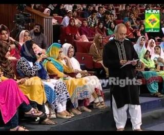 Rahmate Ramzan HUM TV 2013 Iftar EP 20 Credit to Hum TV
